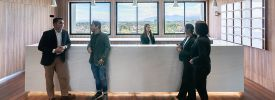Regus Davao Felcris Centrale reception area with people
